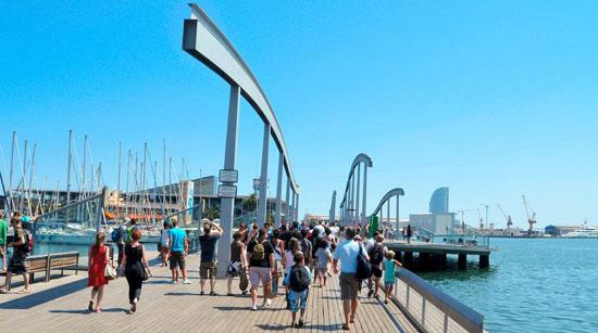 Barcelona_pier-toerisme