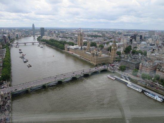 Londen_london_eye_view