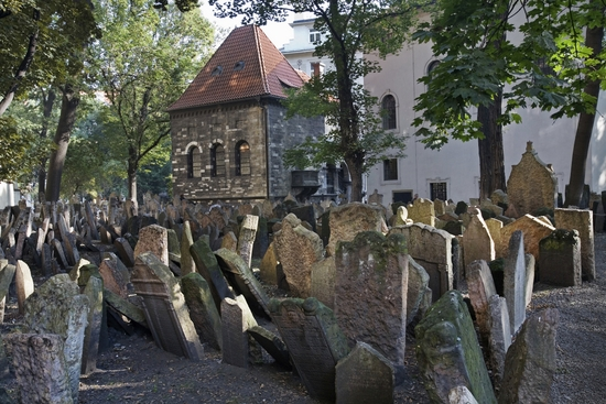 Praag_Josefov-joodse-begraafplaats