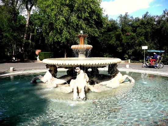 Rome_villa-borghese-tuin