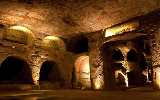 Rome-catacombe