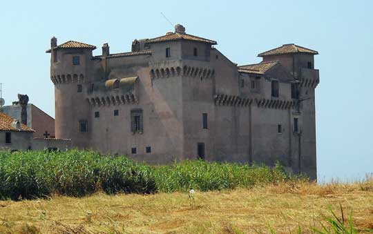 Rome_Castello_Santa_Severa