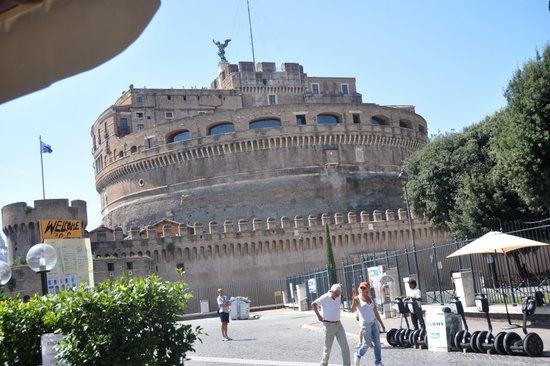 Rome_Engelenburcht_castel-sant-angelo