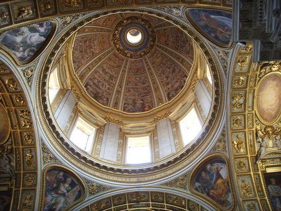 Rome_Santa_Maria_Maggiore,_cappella_sistina_cupola
