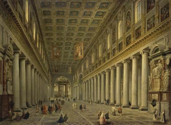 Rome_Santa_Maria_Maggiore_1750