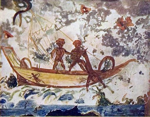 Rome_catacombe-Jonah