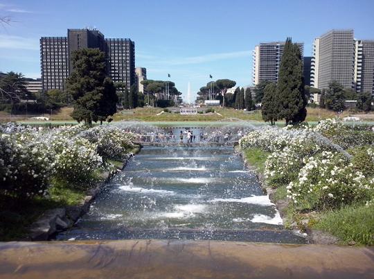 Rome_giardino-delle cascate-eur