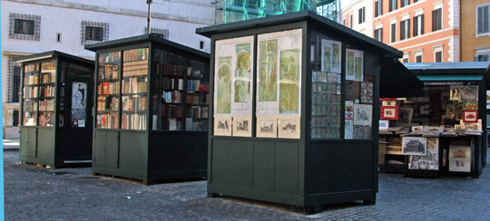 Rome_mercato-della-stampe-boekenmarkt