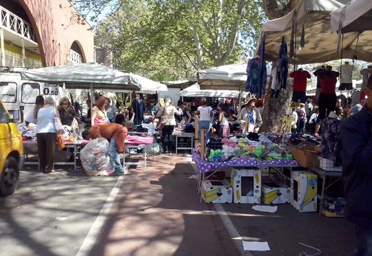 Rome_porta-portese-markt