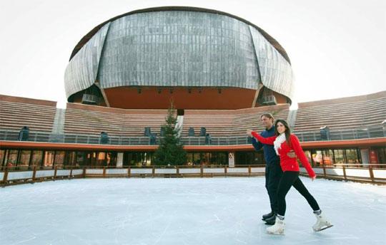 Rome_schaatsen-ijsbaan