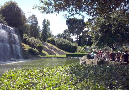 Rome_giardino-delle cascate-waterval