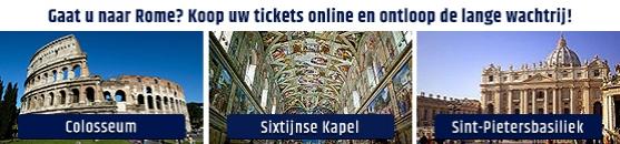 Tickets en kortingen Rome