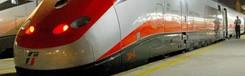 Met de trein naar Rome