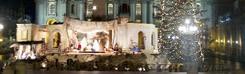 Kerst op het Sint-Pietersplein in Rome