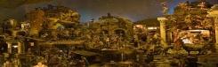 Napolitaanse kerststal in Rome