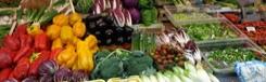 Biologische markten in Rome