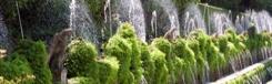 Villa's en tuinen in Tivoli