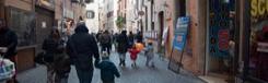 Via dei Giubbonari - een keur aan schoenen