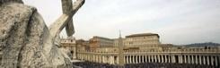 Pasen in Rome