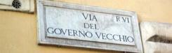 Via del Governo Vecchio, van vintage tot foccaccia