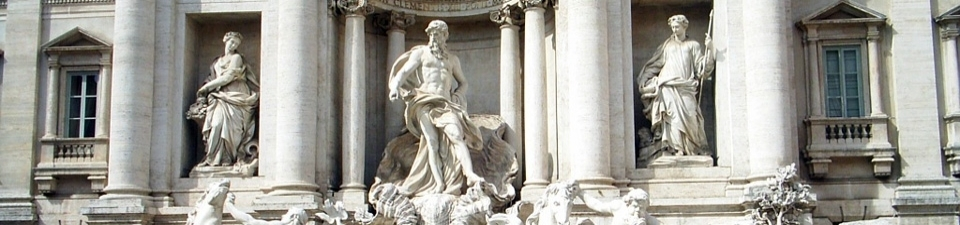 Trevi fontein-Rome